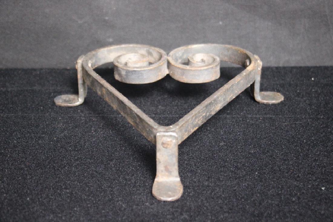 Heart Trivet, Cast Iron - 2