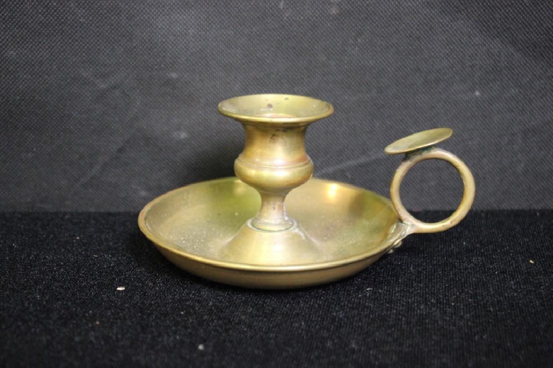 Candlestick Holder, Brass