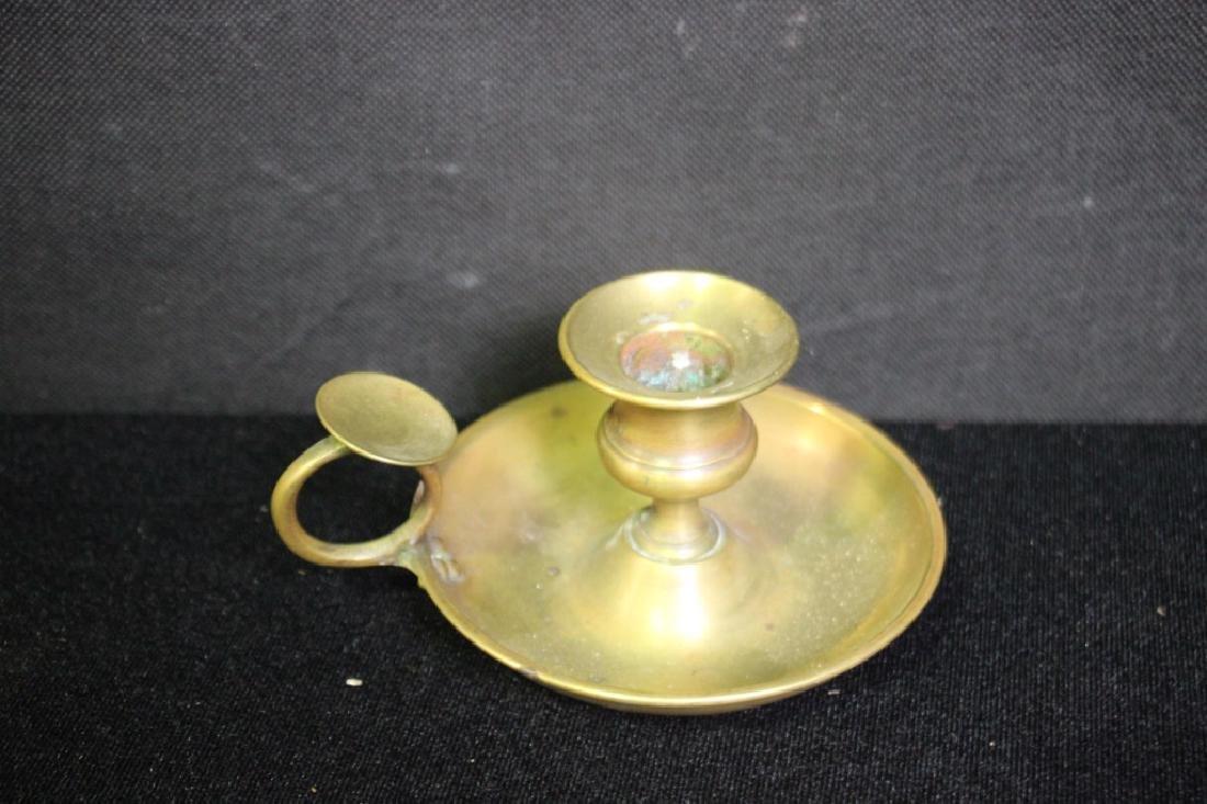 Candlestick Holder, Brass - 2