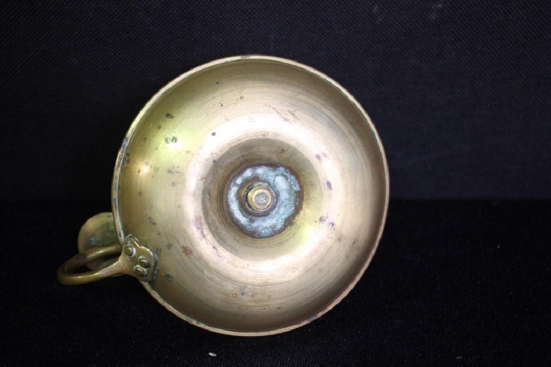Candlestick Holder, Brass - 3