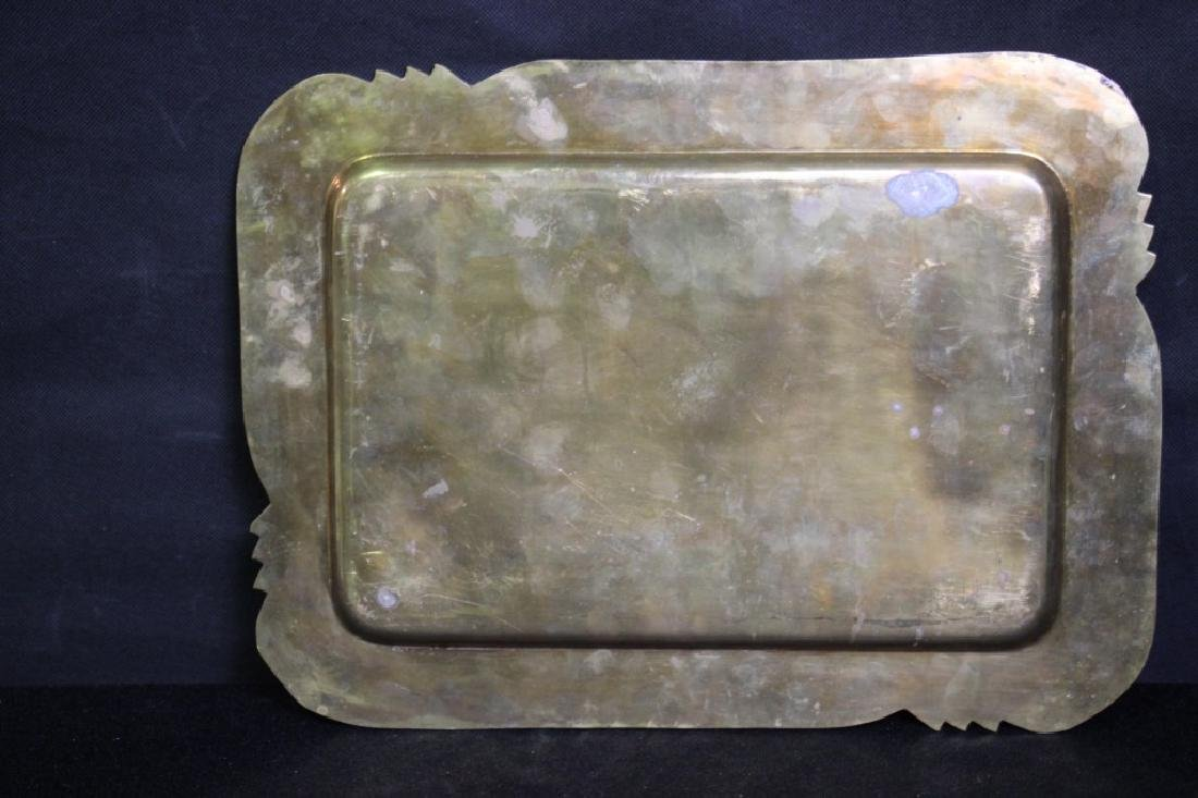 Brass Serving Tray - 2