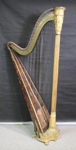Harp, 19th C.