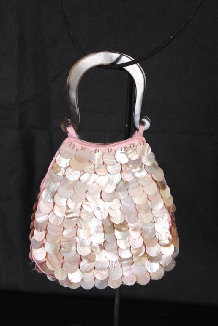 Vintage Mother of Pearl Handbag