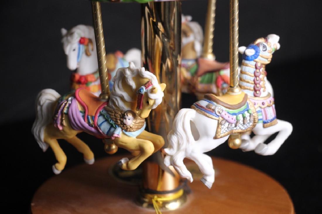 Carousel w/4 Horses - 4