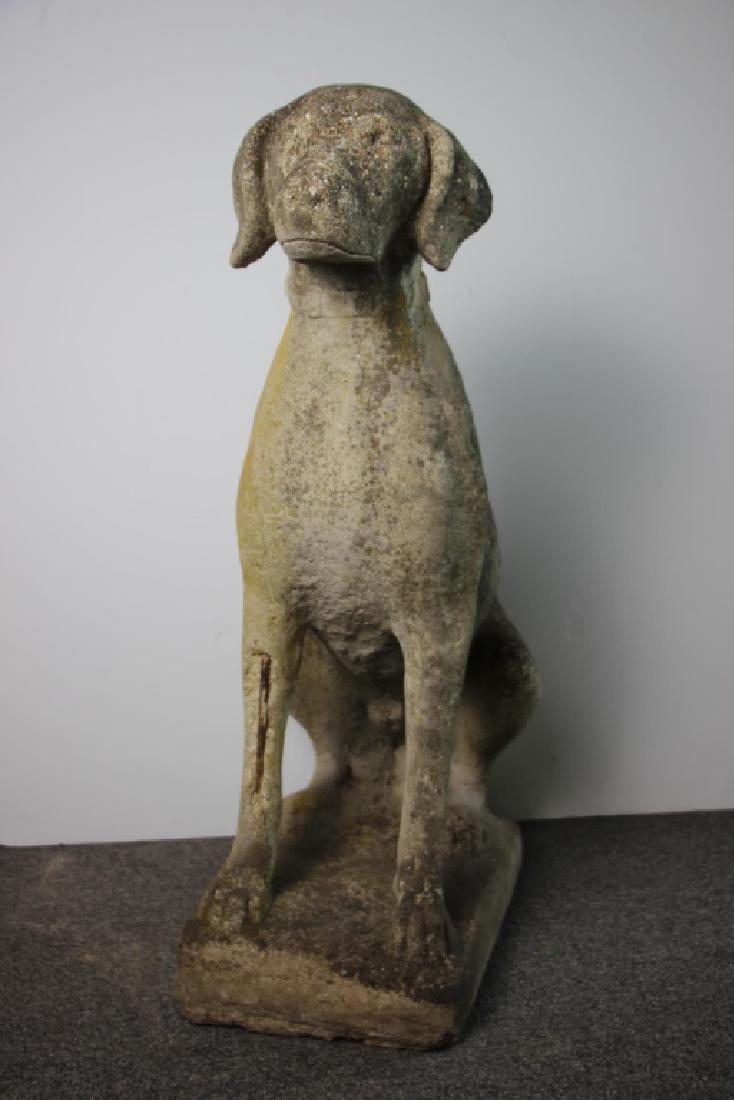 Lifesize Dog Garden Statue