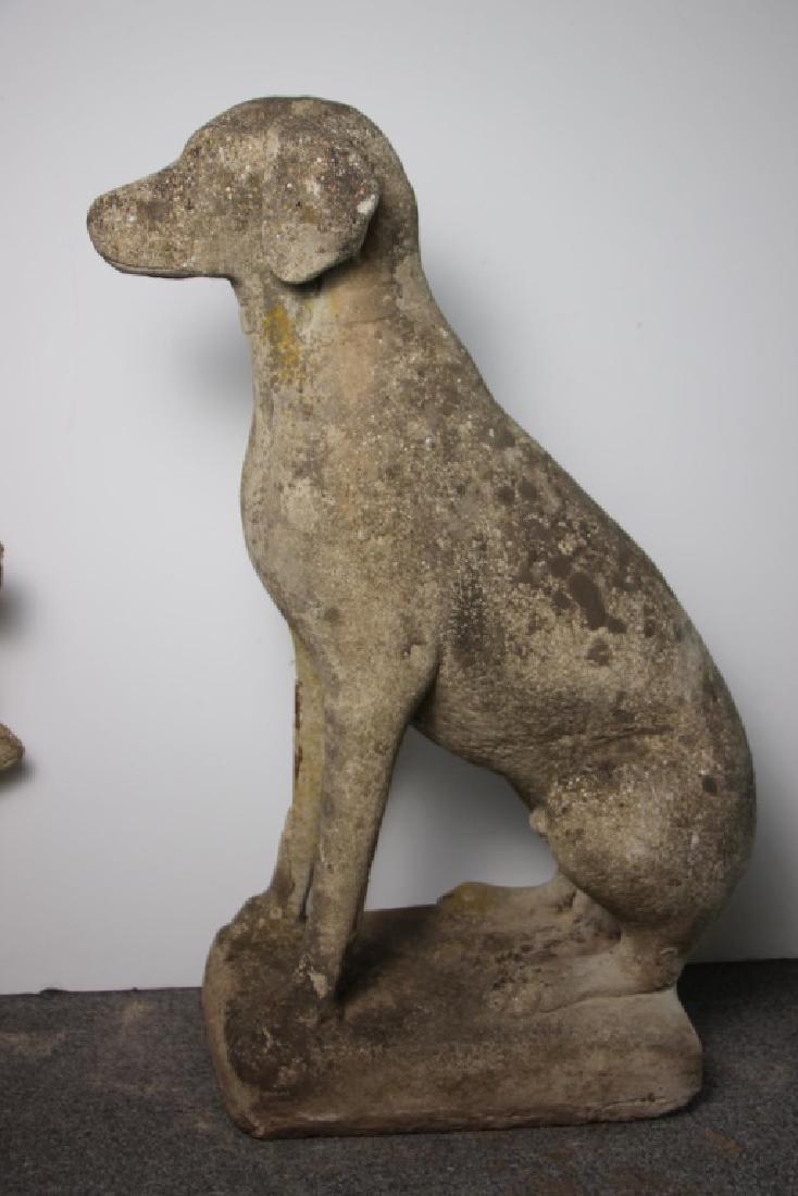 Lifesize Dog Garden Statue - 2