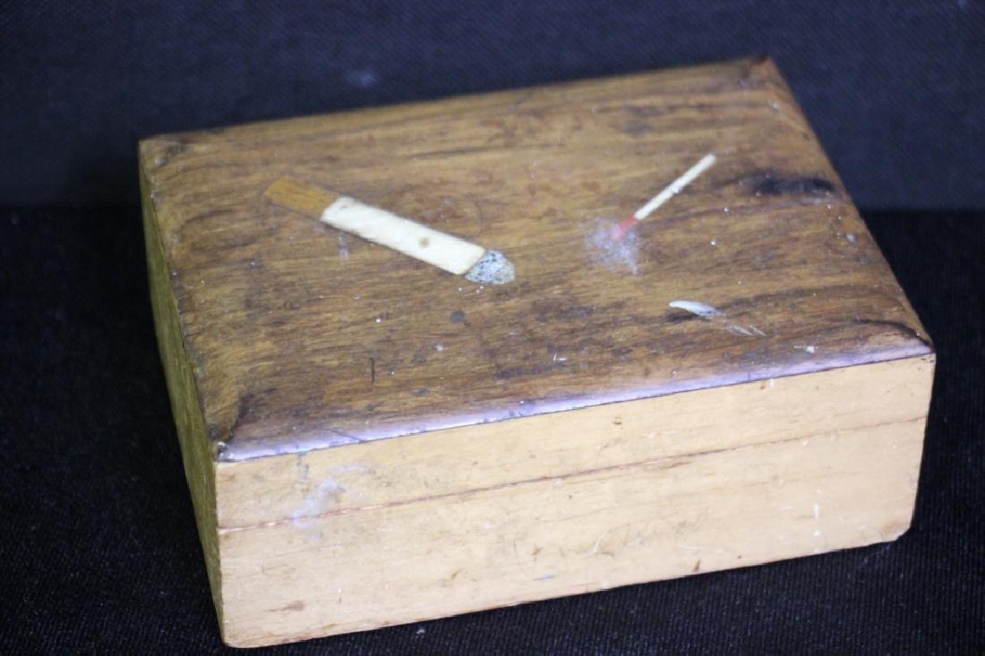 Cigarette & Match Box