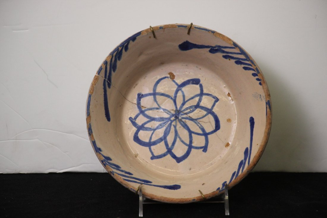 18th-19th C. Fajalauza Earthenware, Spain