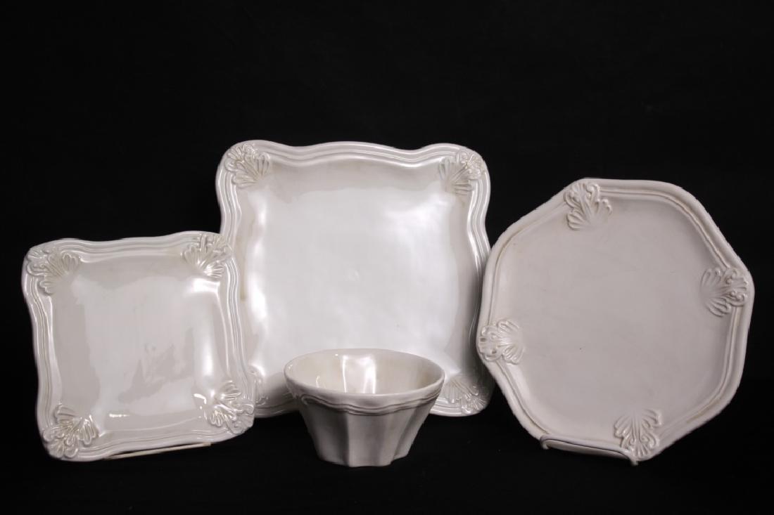 """Tableware by Vietri (Italy), """"Portobello"""""""