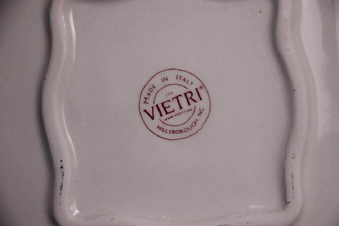 """Tableware by Vietri (Italy), """"Portobello"""" - 2"""