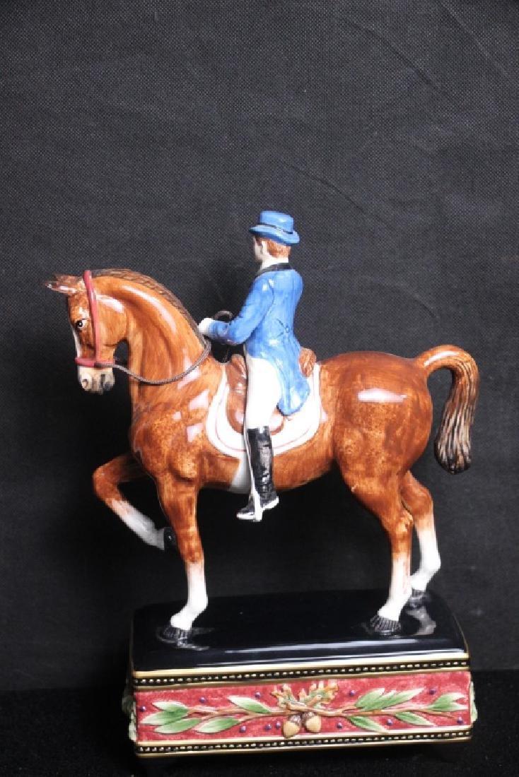Horse & Rider Figurine Fitz & Floyd - 2