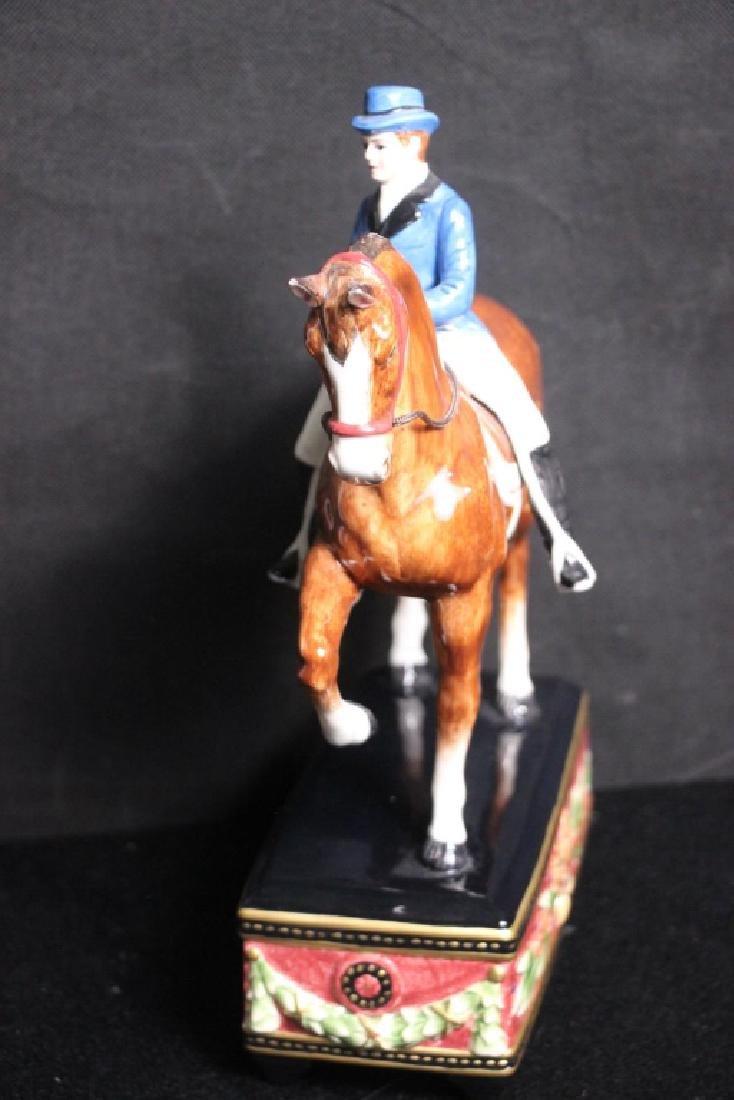 Horse & Rider Figurine Fitz & Floyd - 3