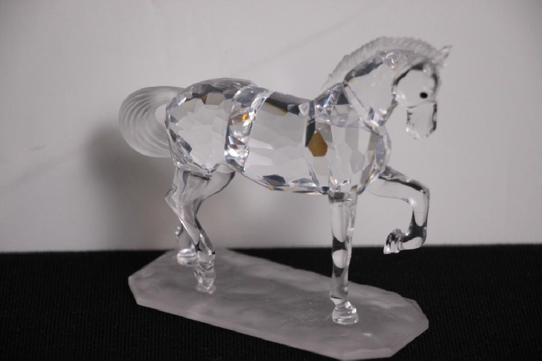 Crystal Horse on Base - 2