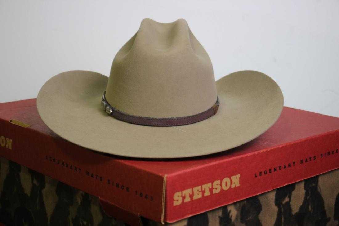 2d474be81aadd Stetson Cowboy Hat Beige Size 7
