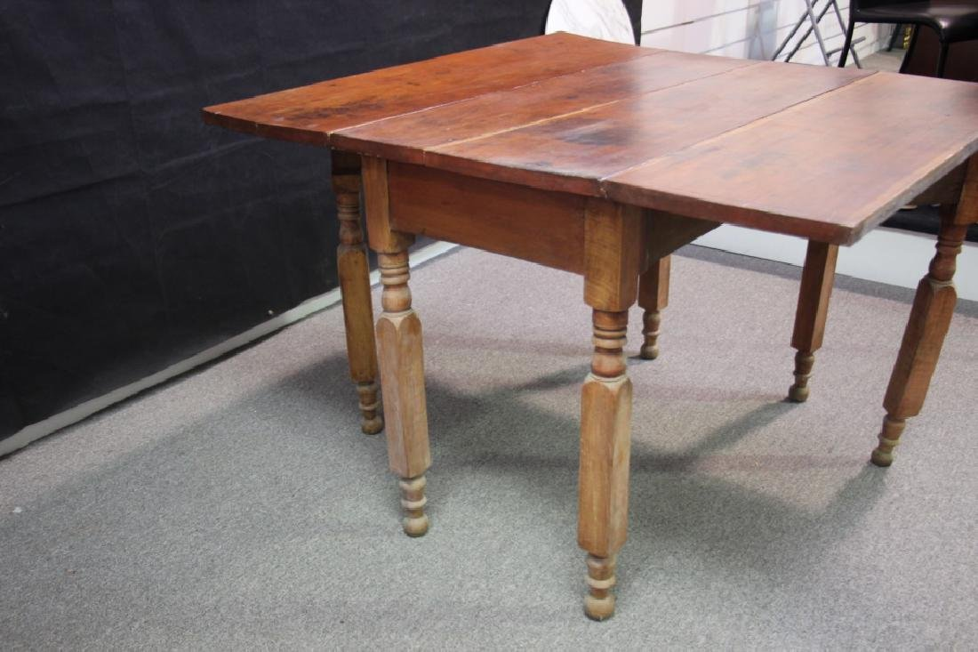 Drop Leaf Table - 3