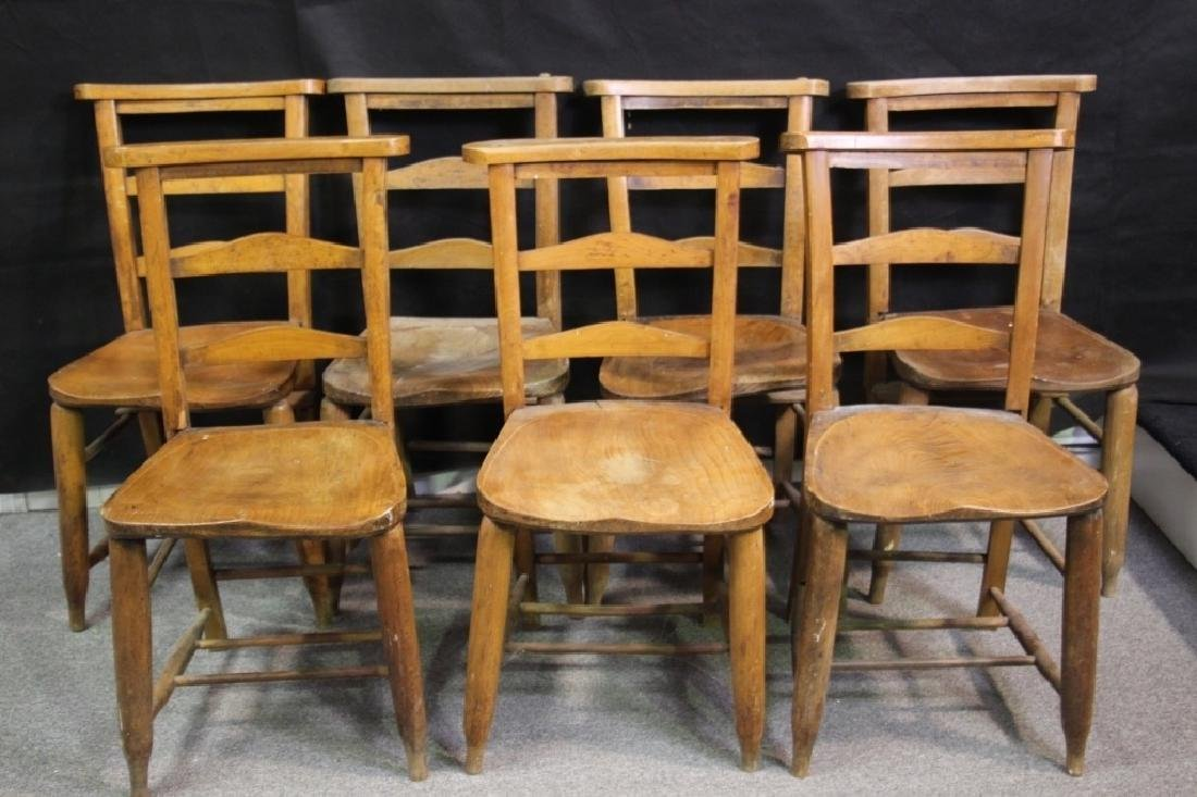 English Prayer Chairs From A Nunnery (7)
