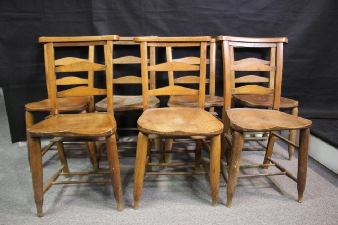English Prayer Chairs From A Nunnery (7) - 2