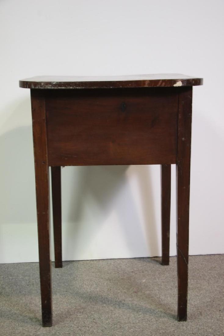 Mahogany Side Table - 4