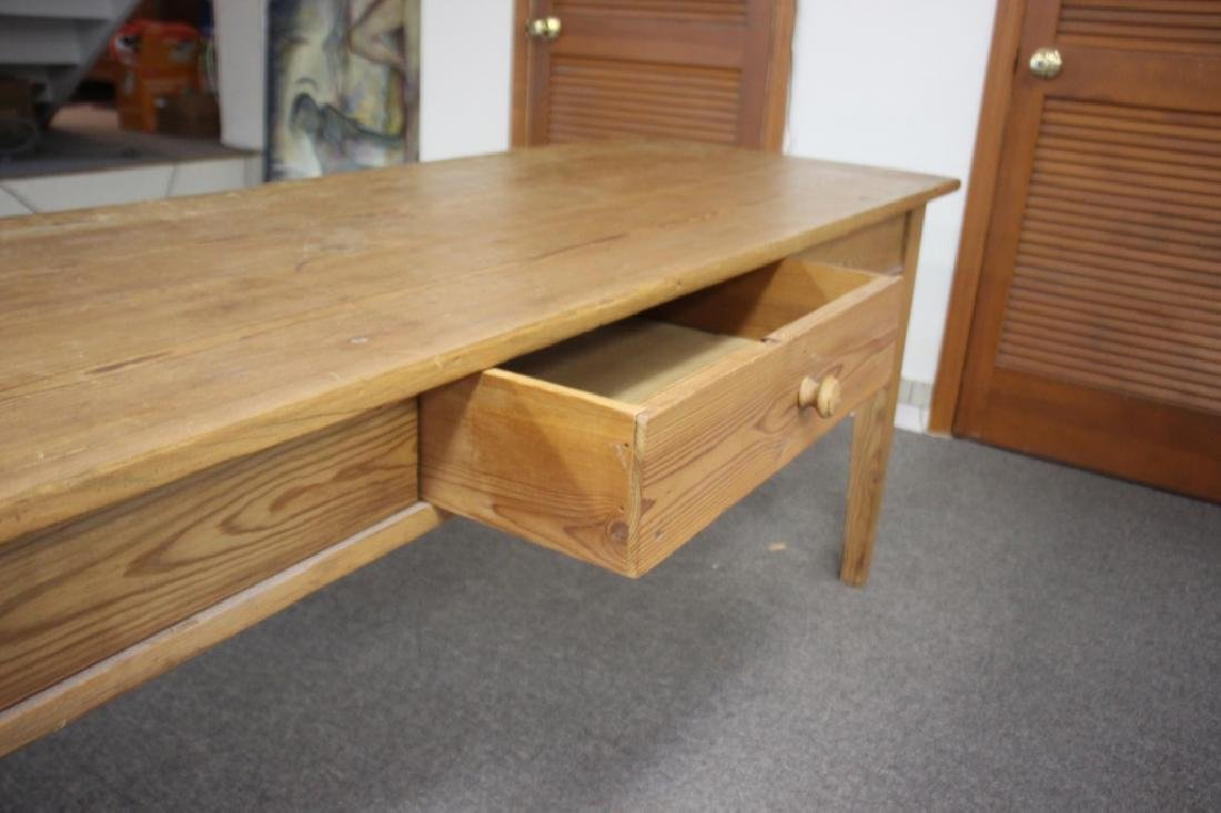 French Farm Table/Harvest Table, Pine - 2