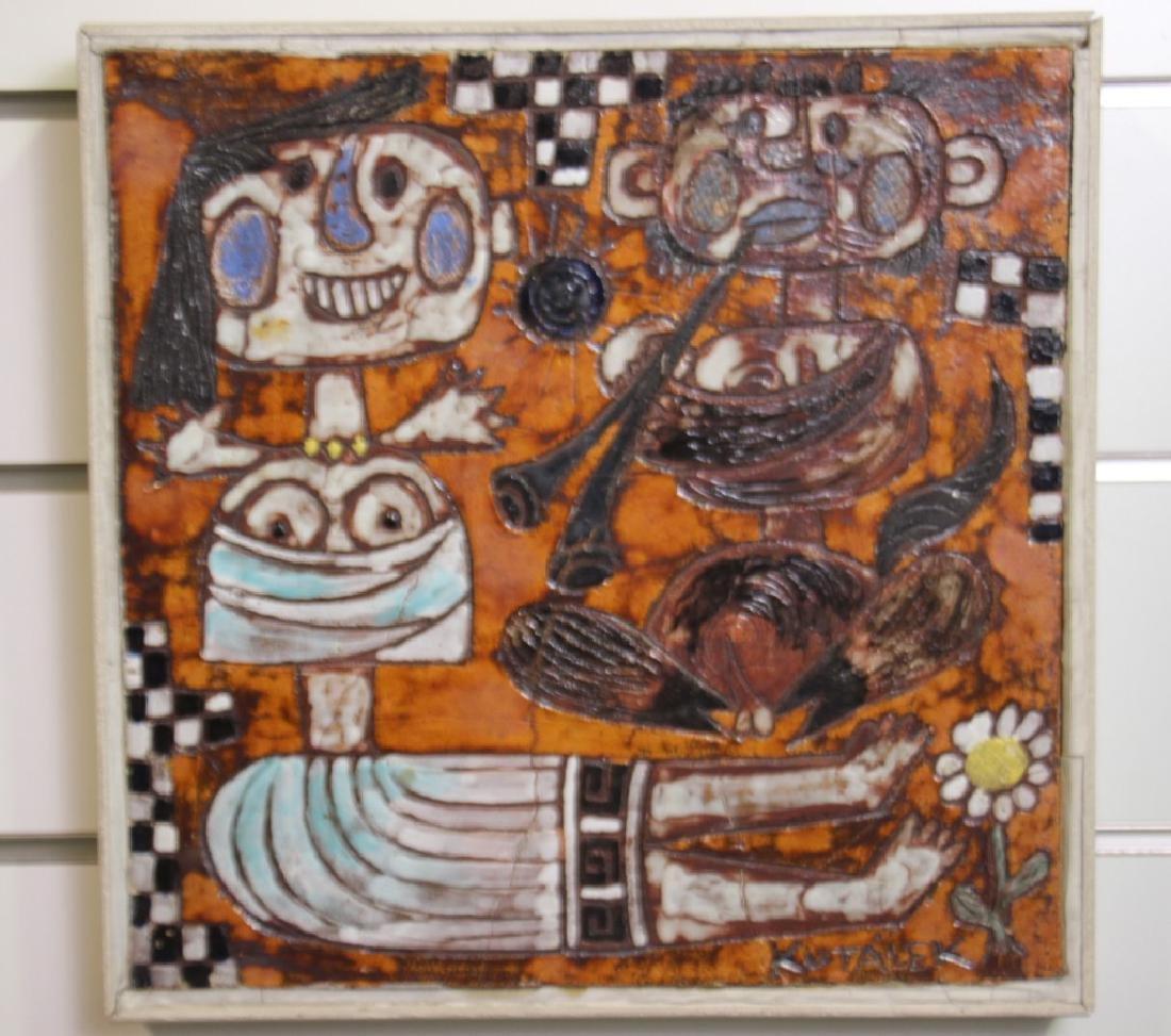 Tile, Handmade by Jan Kutalek