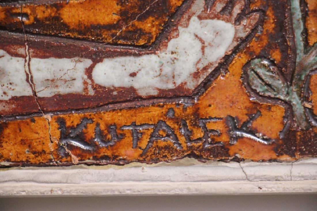 Tile, Handmade by Jan Kutalek - 2