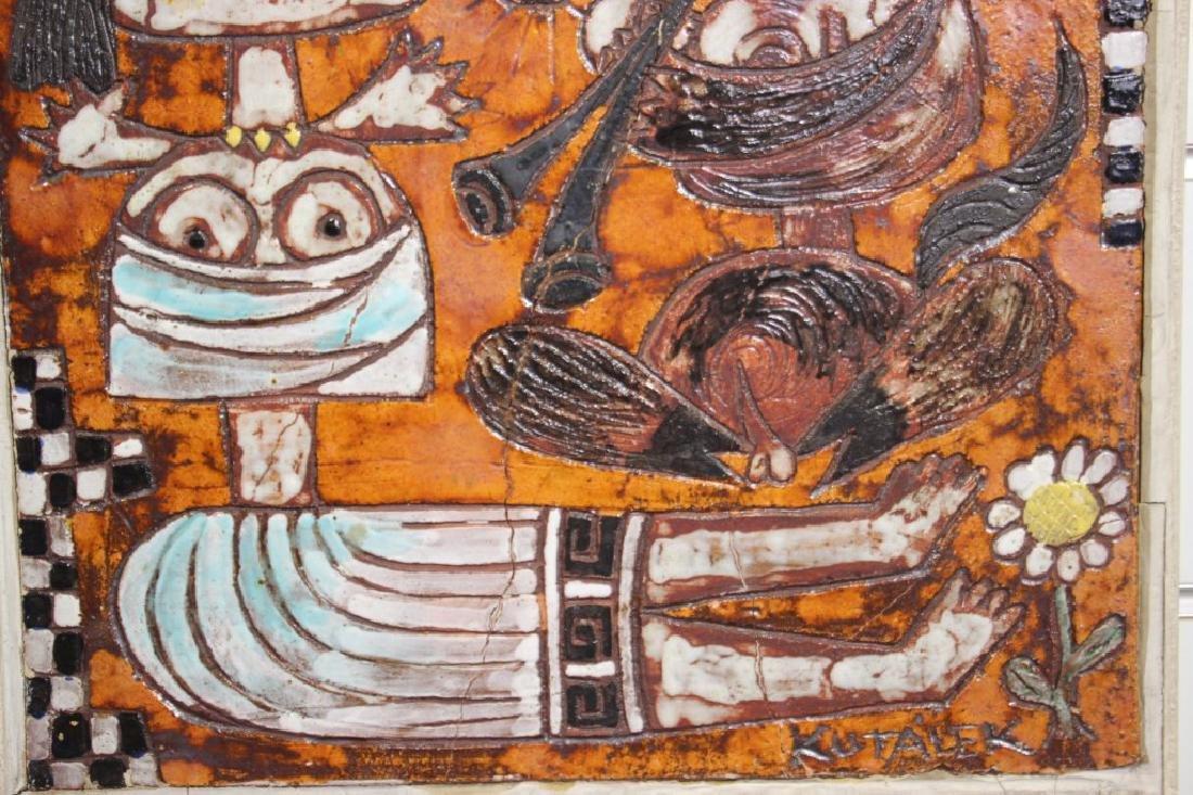 Tile, Handmade by Jan Kutalek - 4