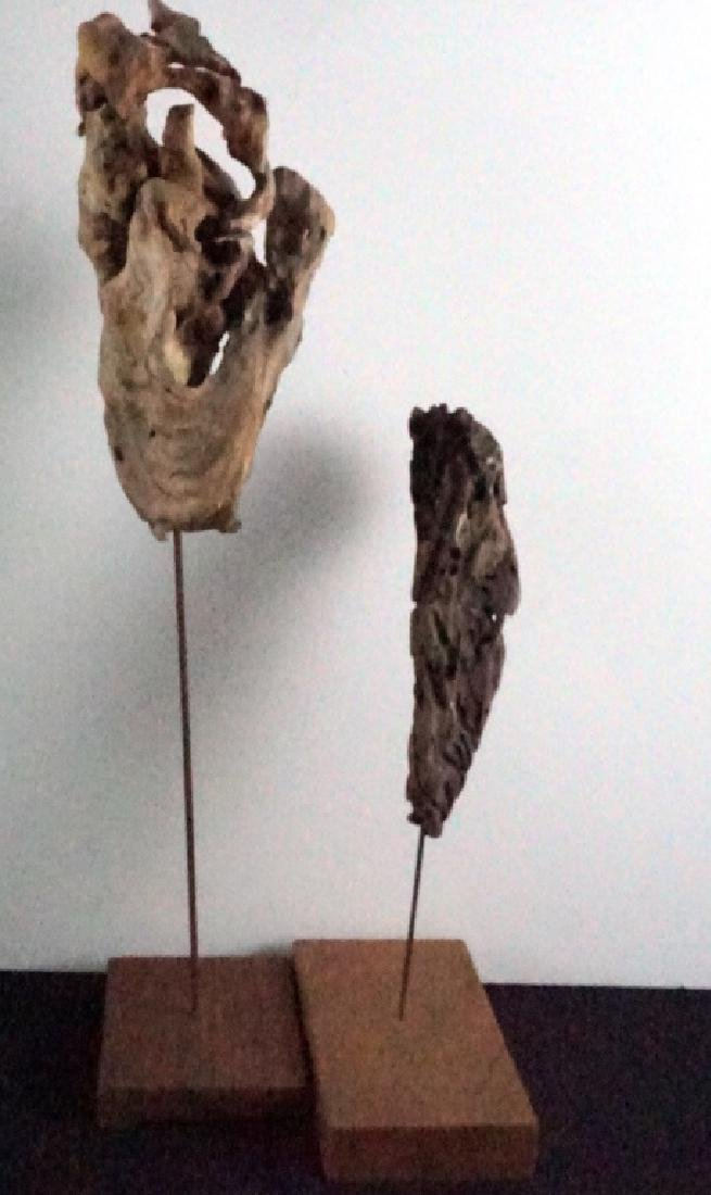 Bryan Hunt Drift Wood Sculpture (b.1947) (2 Pcs.) - 2