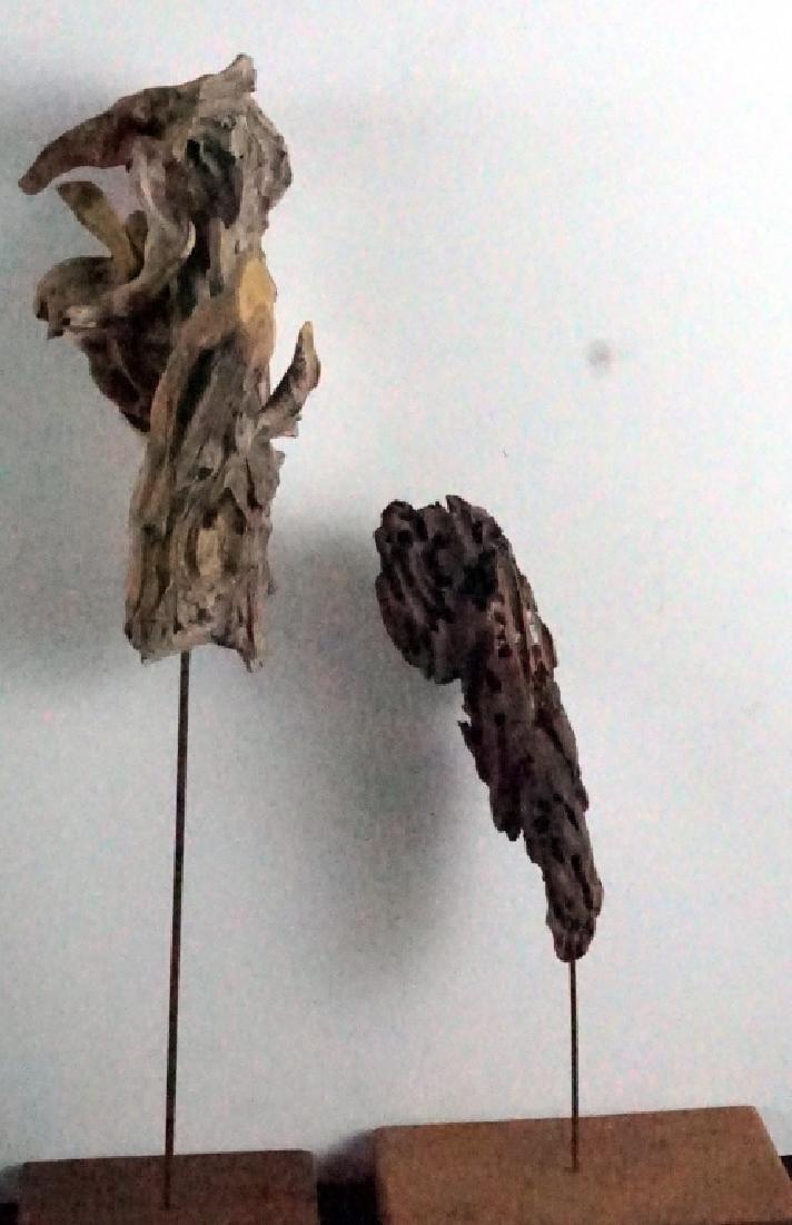 Bryan Hunt Drift Wood Sculpture (b.1947) (2 Pcs.) - 6