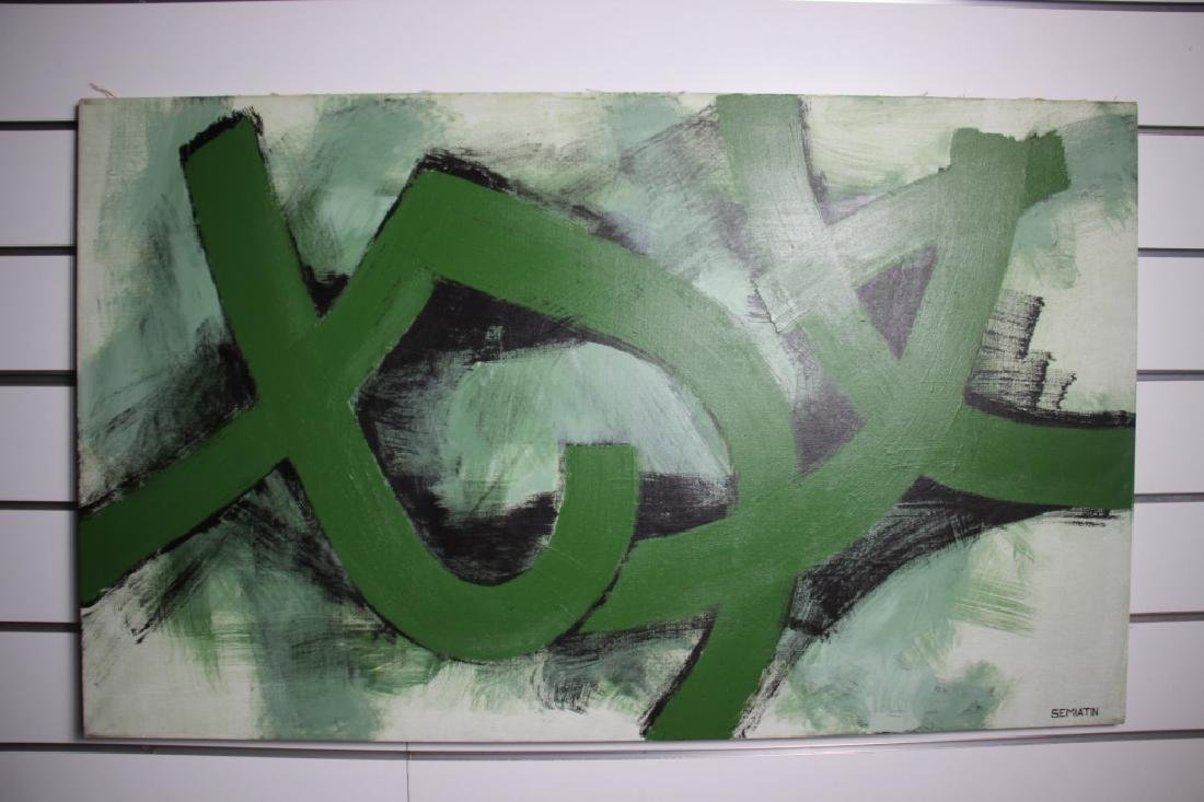 Semiatin, Jacob (1915-1992) Modern Abstract