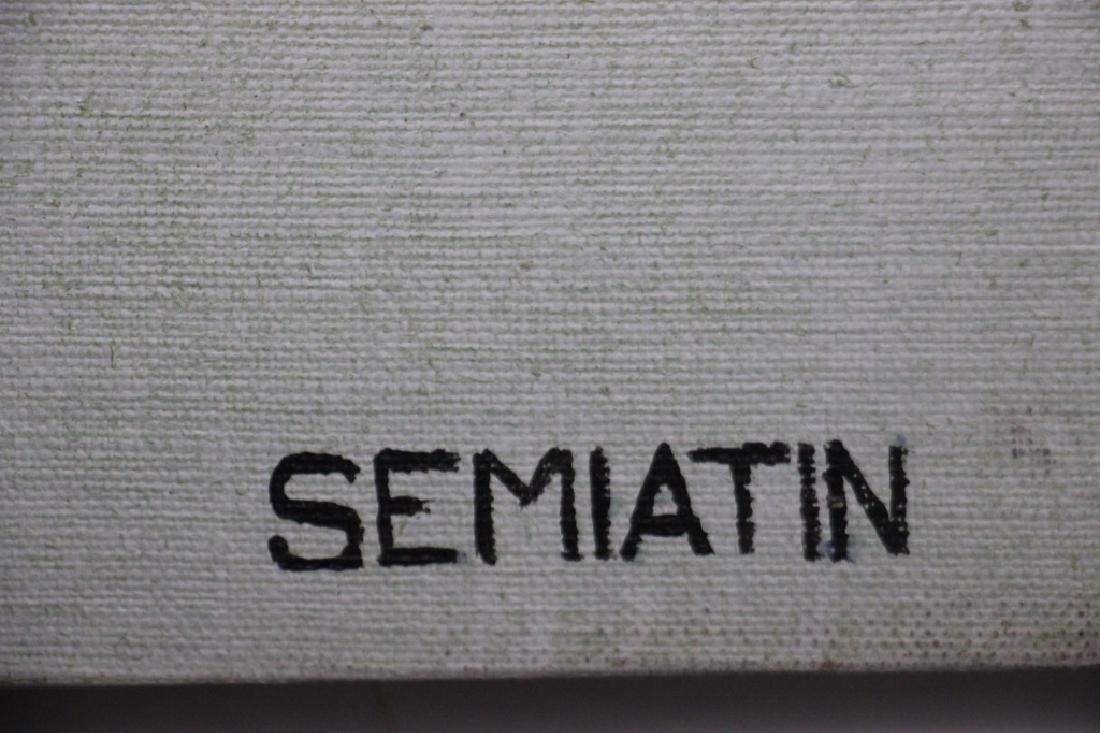 Semiatin, Jacob (1915-1992) Modern Abstract - 2