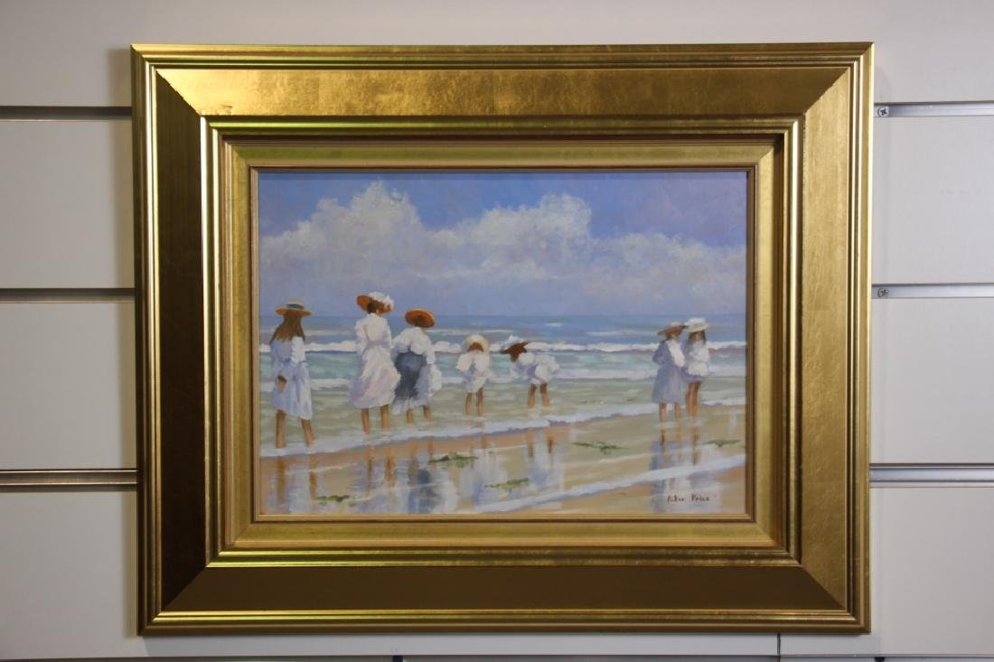 Price, Peter (b. 1935) Beach Scene