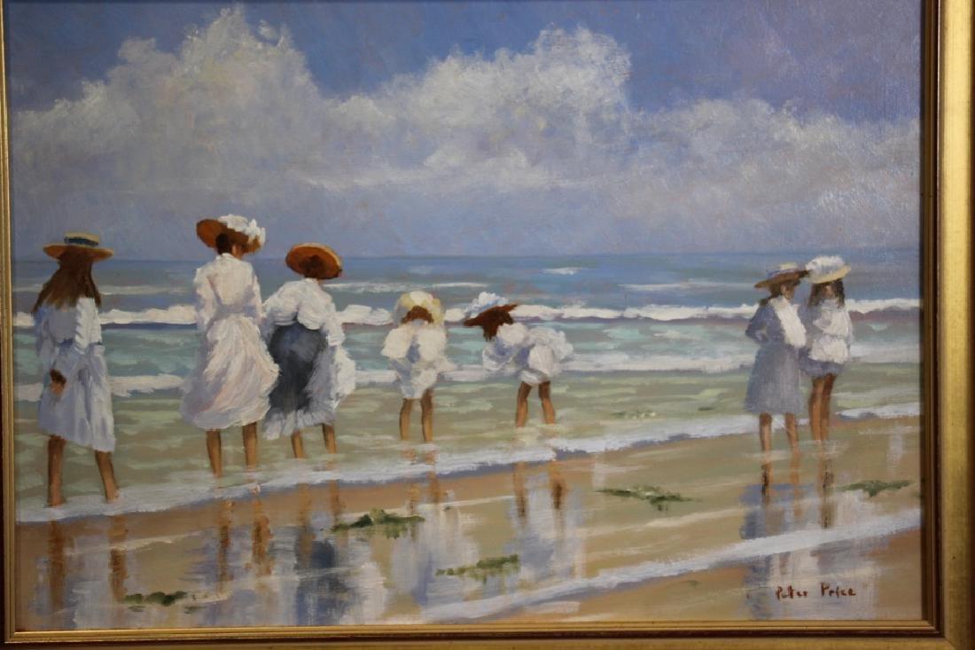 Price, Peter (b. 1935) Beach Scene - 2