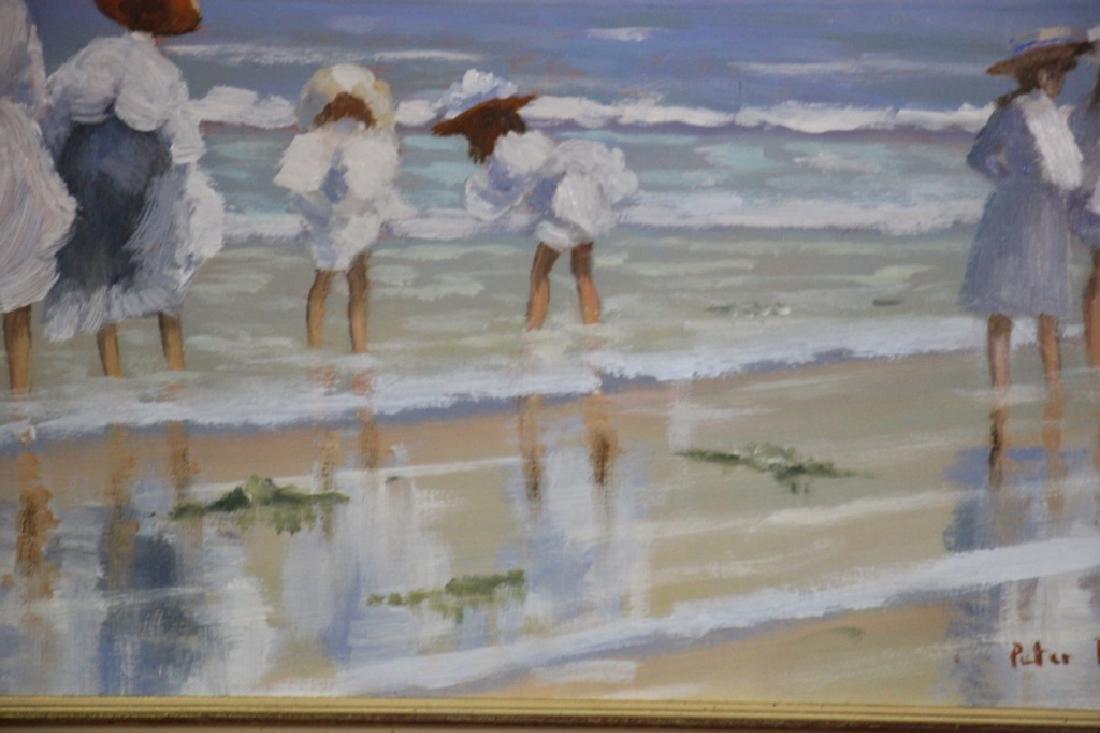 Price, Peter (b. 1935) Beach Scene - 3