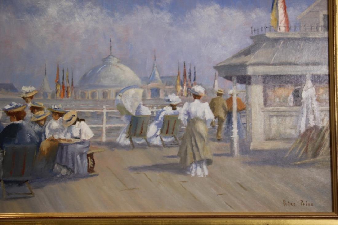 Price, Peter (b. 1935) Boardwalk Scene - 2