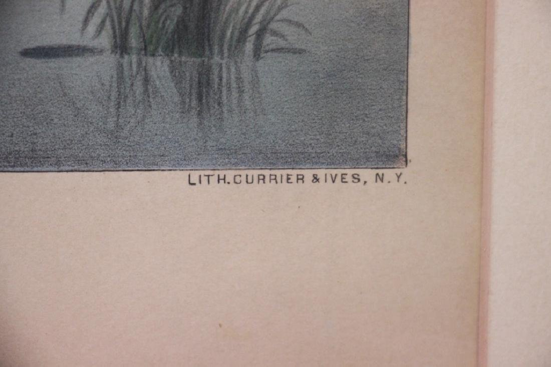 Courier & Ives Lith, View of the Housatonic - 6