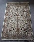 Tabriz Style, Silk & Wool, Hand Woven in Indian