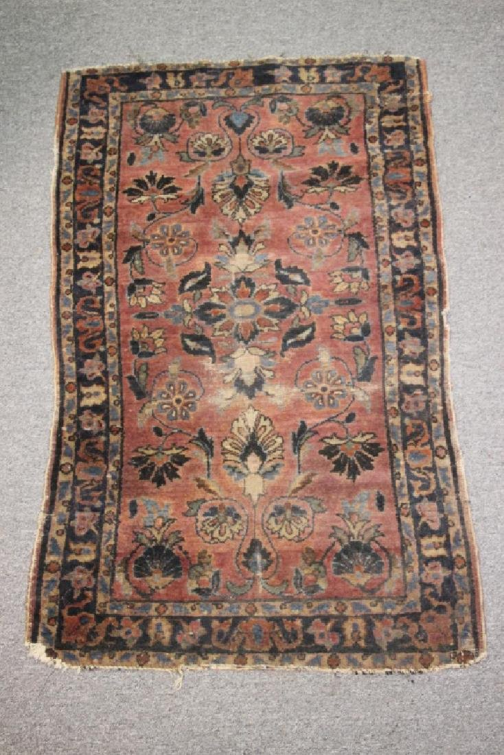 Hand Knotted Middle Eastern Rug