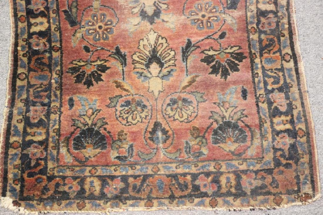 Hand Knotted Middle Eastern Rug - 2