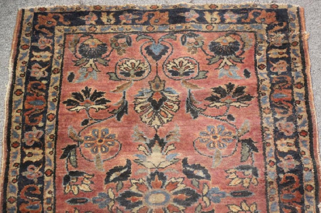 Hand Knotted Middle Eastern Rug - 4