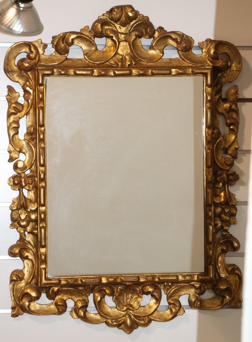 Gold Gilded Mirror