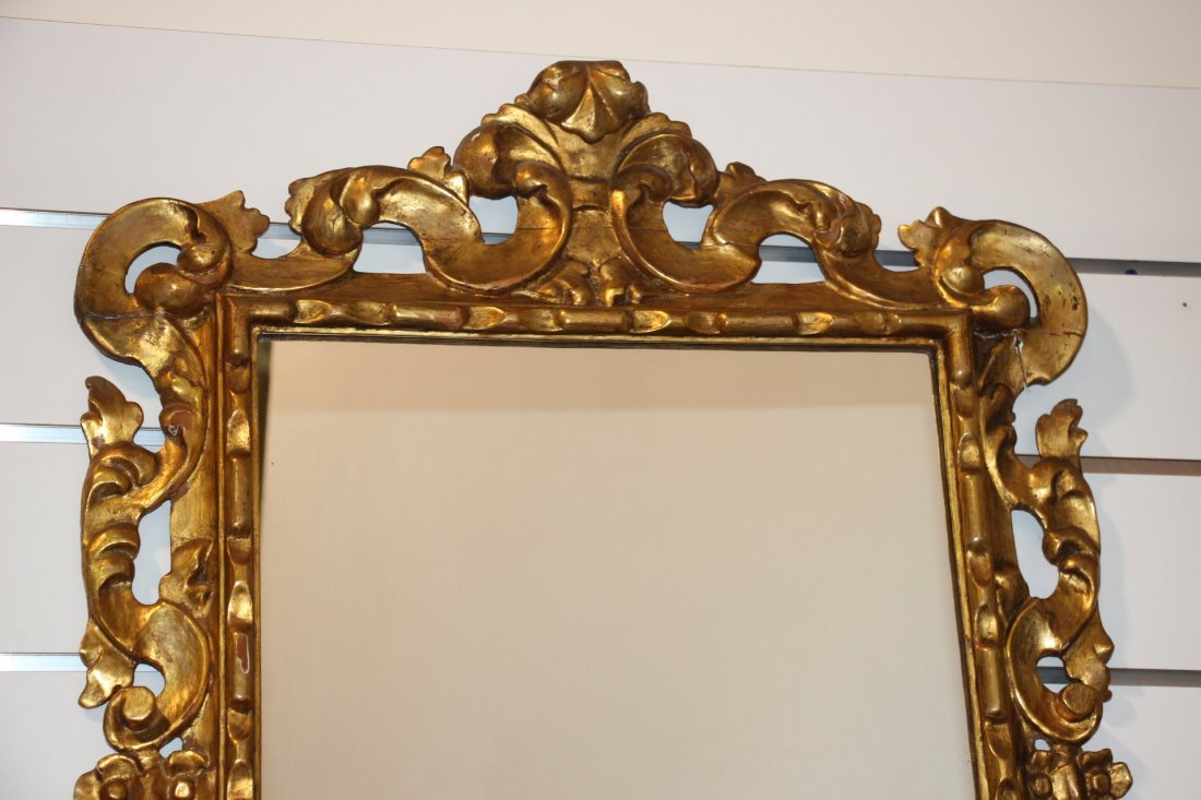 Gold Gilded Mirror - 2