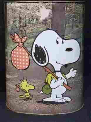 Peanuts Waste Basket
