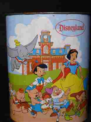 Walt Disney Land Waste Basket