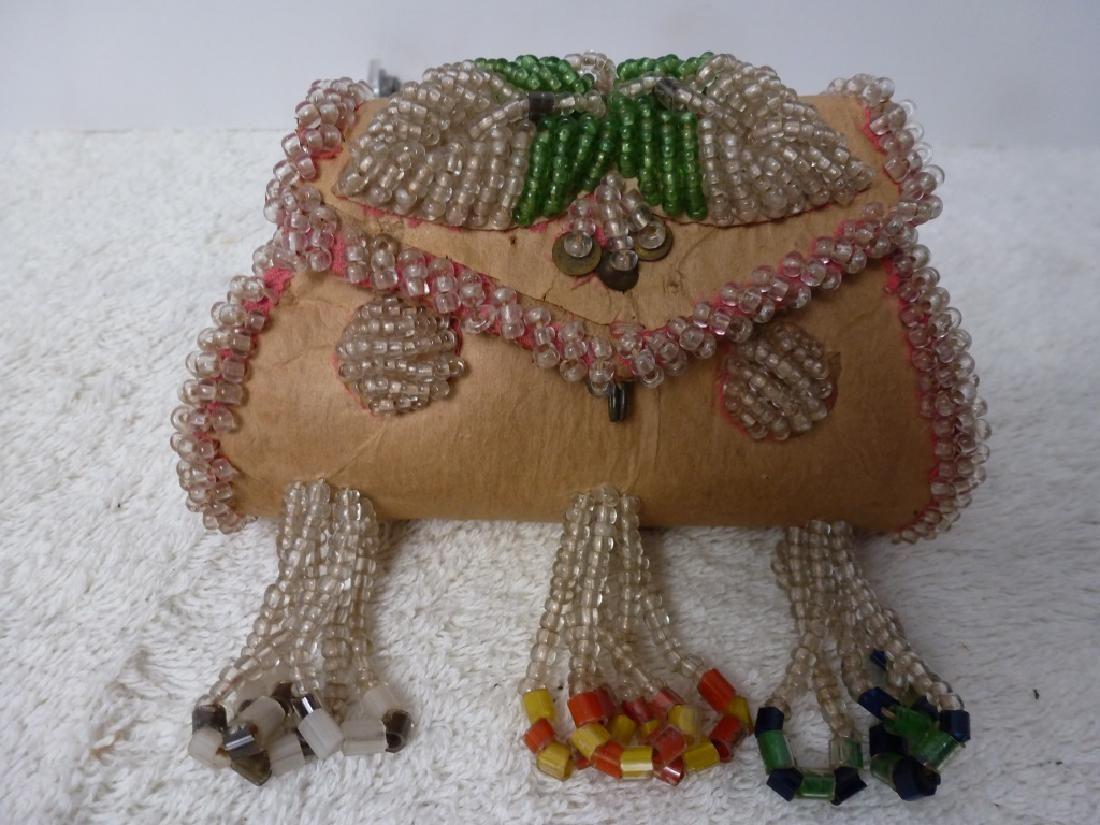 Beaded Change Purse/Mini Handbag