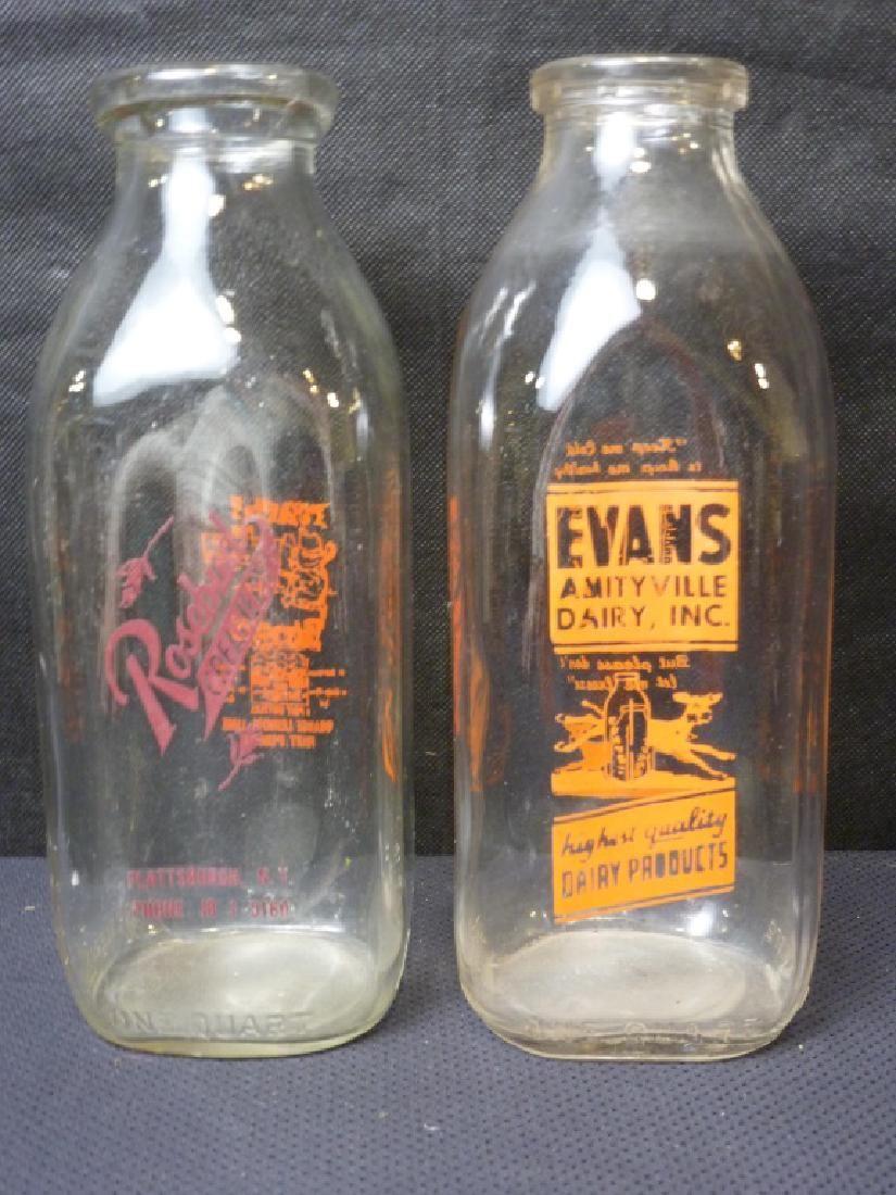 Glass Milk Bottles (2)