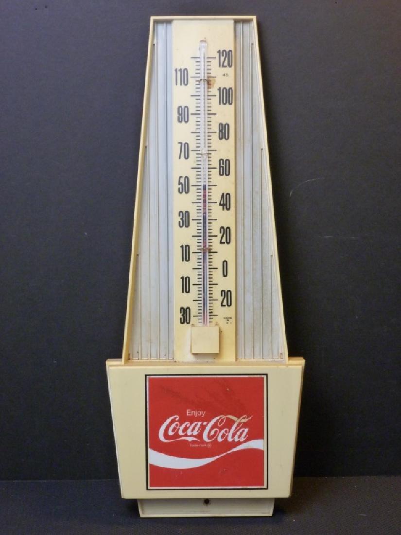 Coca-Cola Thermometer Plastic