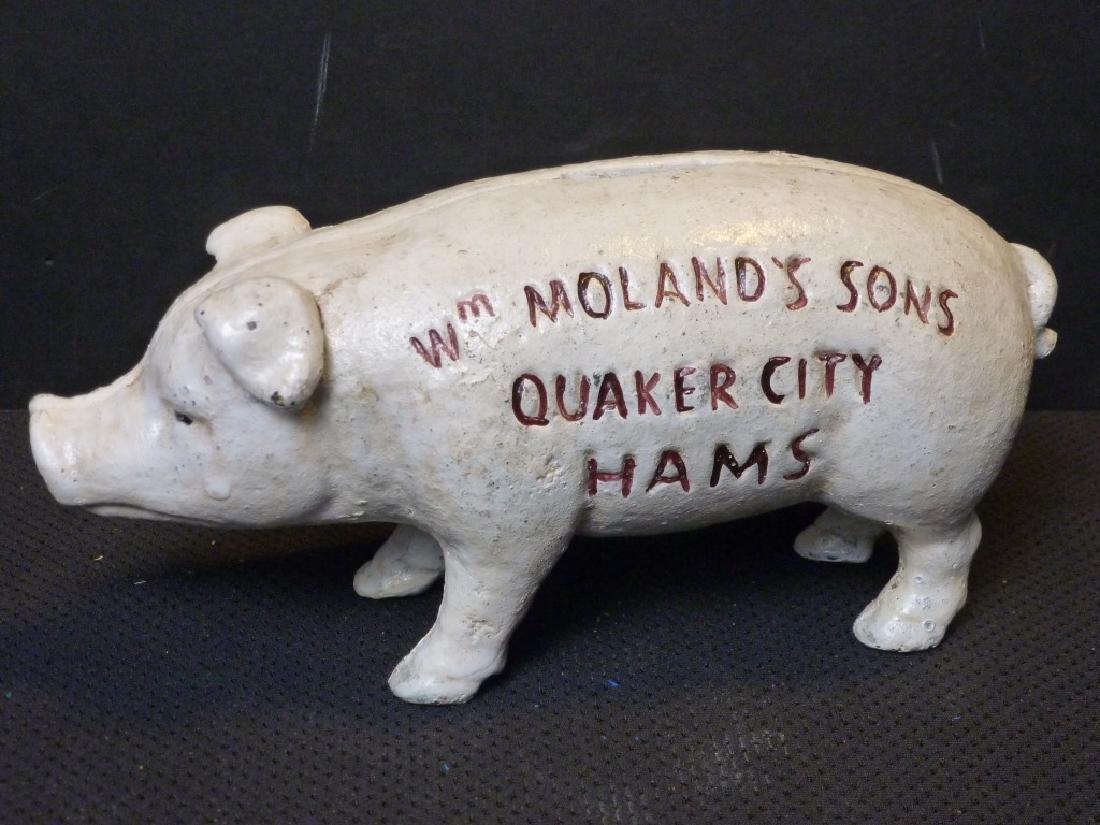 Quaker City Hams Pig Bank