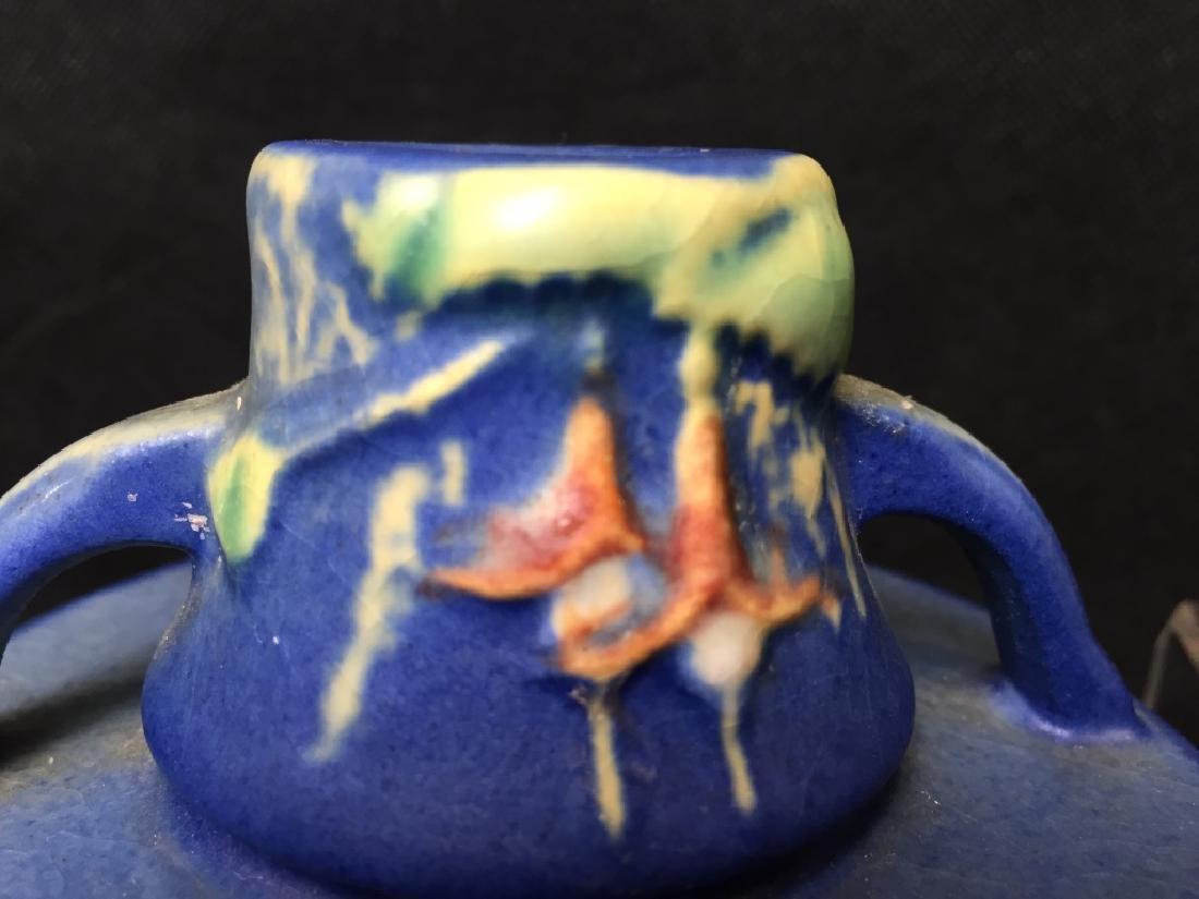 Roseville Candle Holders Dark Blue - 2