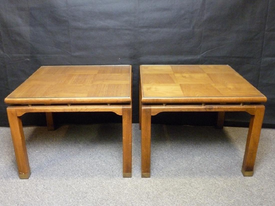 Parquet Top End Tables