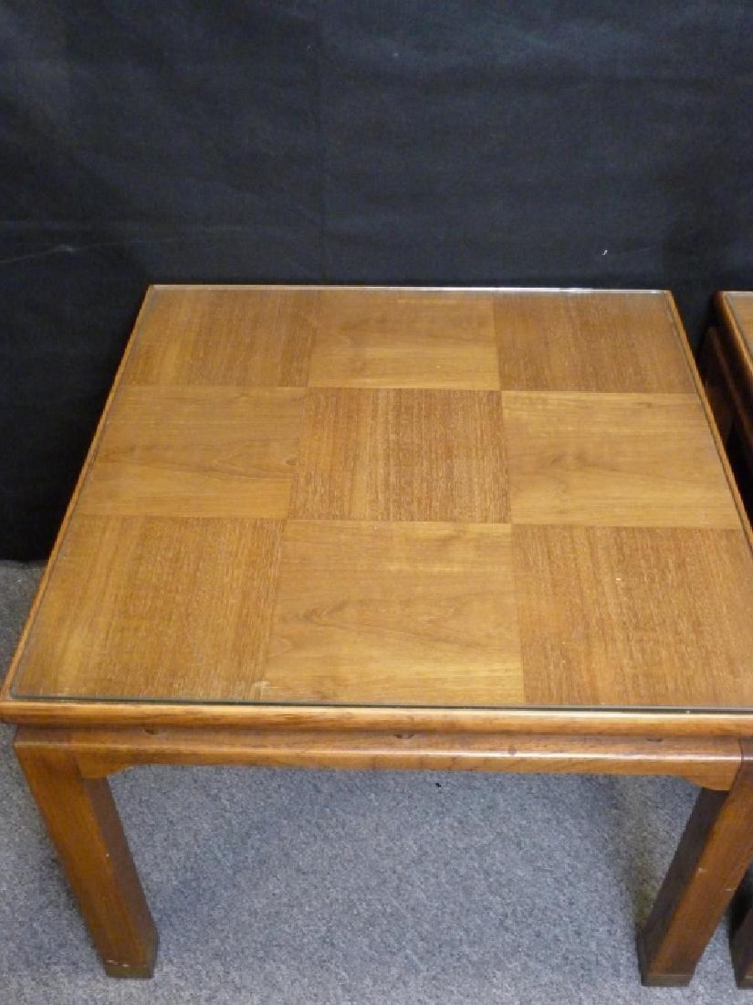 Parquet Top End Tables - 2